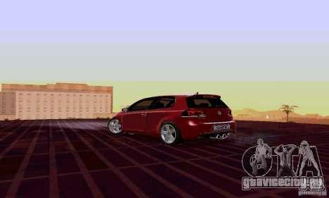 Volkswagen Golf GTI 2011 для GTA San Andreas вид слева
