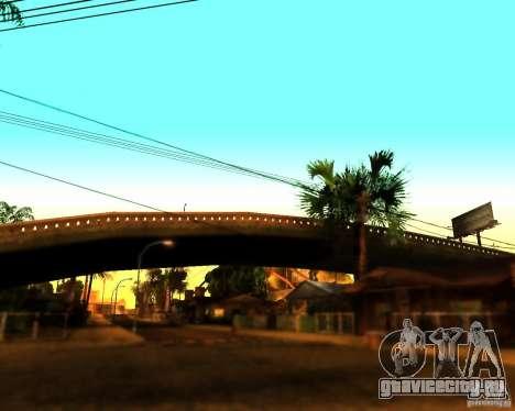 ENB For medium PC для GTA San Andreas четвёртый скриншот