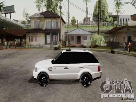 Range Rover Tuning для GTA San Andreas вид справа