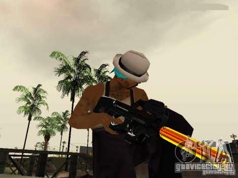 Black and Yellow weapons для GTA San Andreas пятый скриншот
