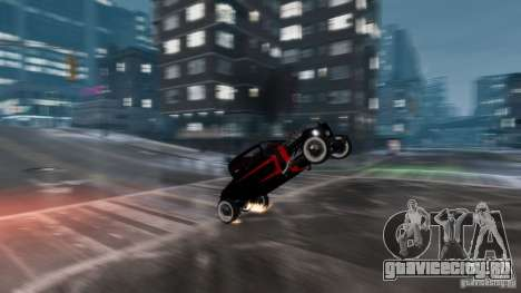 Smith 34 Hot Rod для GTA 4 вид изнутри