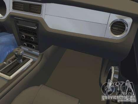 Ford Mustang 2011 GT для GTA San Andreas колёса