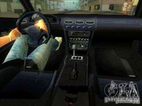 Infernus из GTA IV для GTA Vice City вид сзади