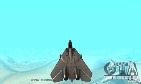 F14W Super Weirdest Tomcat Skin 1 для GTA San Andreas салон