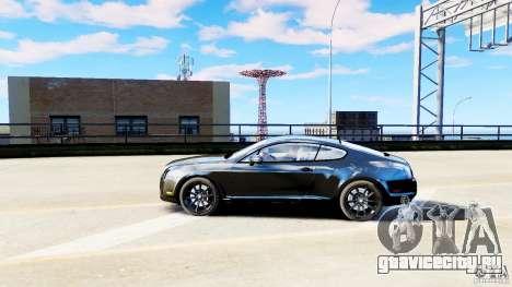 Bentley Continental SuperSports v2.5 для GTA 4 вид слева