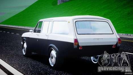ГАЗ 24-12 1986-1994 Stock Edition v2.2 для GTA 4 вид сбоку