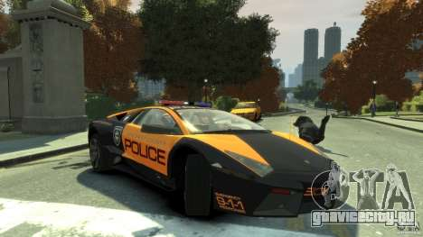 Lamborghini Reventon Police Hot Pursuit для GTA 4