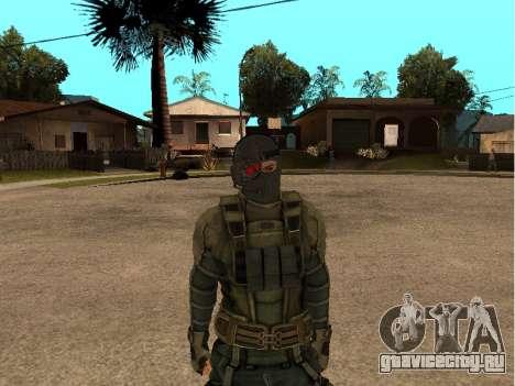 Скин army инженер для GTA San Andreas третий скриншот