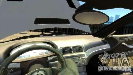 BMW E46 M3 GTR Sport для GTA 4 вид снизу