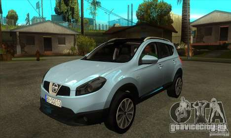 Nissan Qashqai 2011 для GTA San Andreas