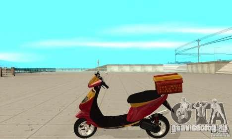 GTAIV Pizzaboy для GTA San Andreas вид слева