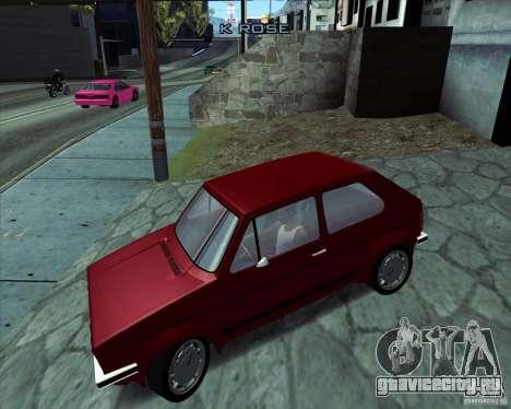 Volkswagen Golf MK 1 GTI для GTA San Andreas вид слева