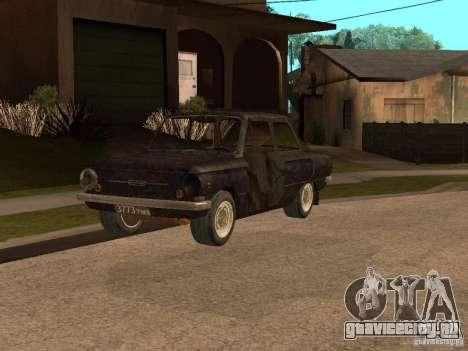ЗАЗ-968 Заброшенный для GTA San Andreas