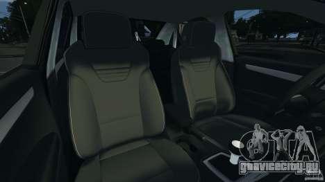 Audi RS4 EmreAKIN Edition для GTA 4 вид изнутри