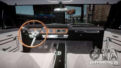 Pontiac GTO 1965 v3.0 для GTA 4 вид сзади