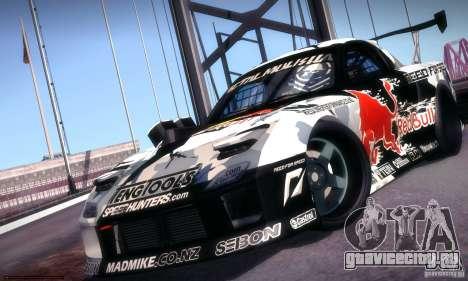 Mazda RX-7 Mad Mike для GTA San Andreas вид сзади слева