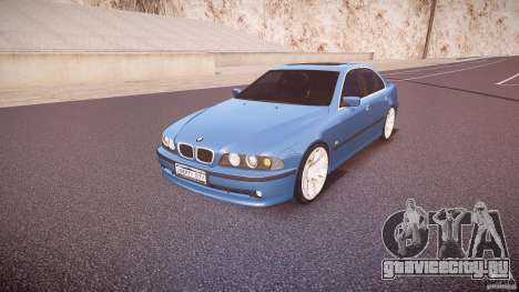 BMW 530I E39 e63 white wheels для GTA 4