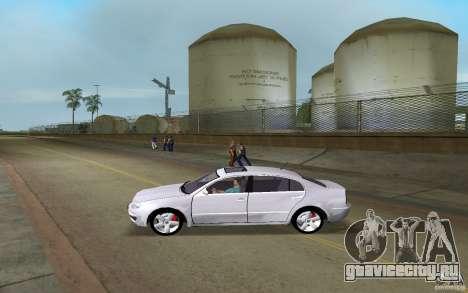 Skoda Superb 2.2 v.4 final для GTA Vice City вид слева