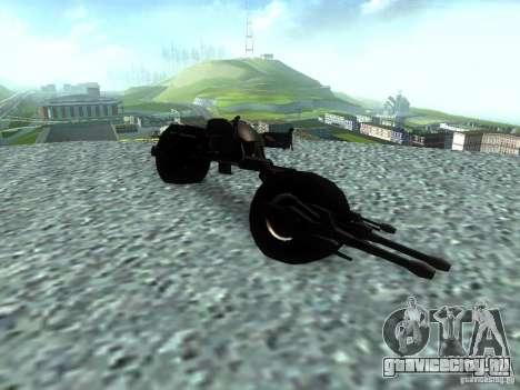 Batpod для GTA San Andreas вид справа