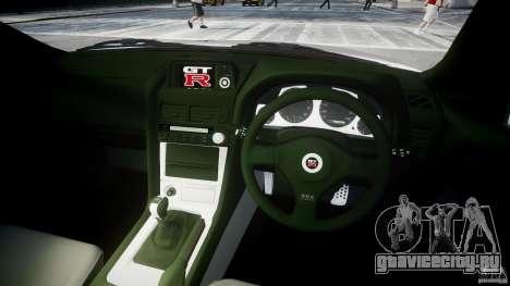 Nissan Skyline R34 Nismo для GTA 4 вид справа