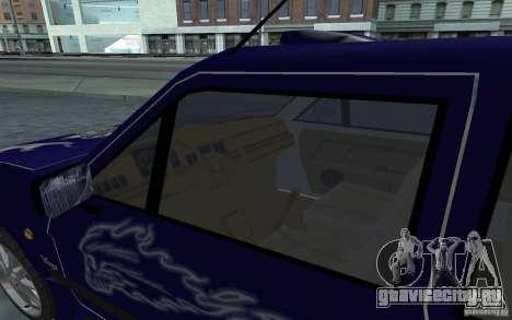 Yugo 45 Tuneable для GTA San Andreas вид сверху