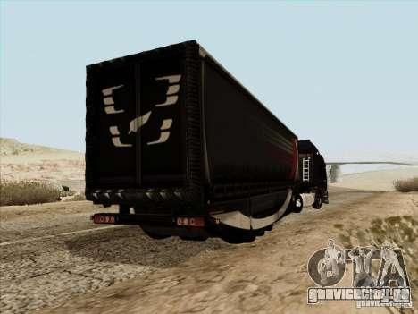 Aero Dynamic Trailer для GTA San Andreas вид сзади слева