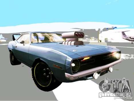 Plymouth Cuda AAR 340 1970 Muscle Cars для GTA San Andreas