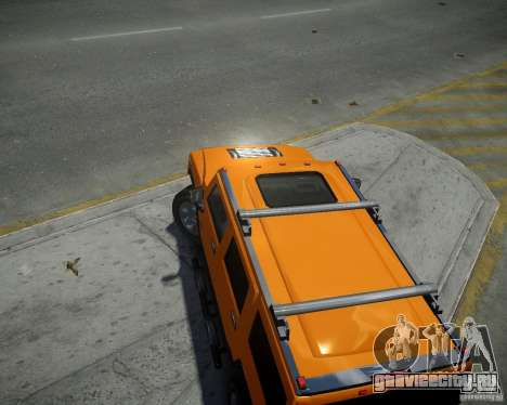 Hummer H2 2010 Limited Edition для GTA 4 вид справа