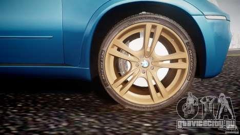 BMW X5 M-Power wheels V-spoke для GTA 4 вид снизу