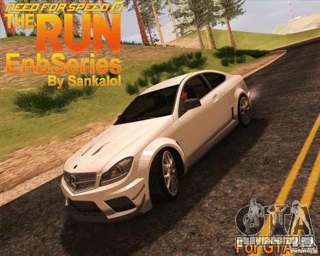 NFS The Run ENBSeries для SAMP для GTA San Andreas