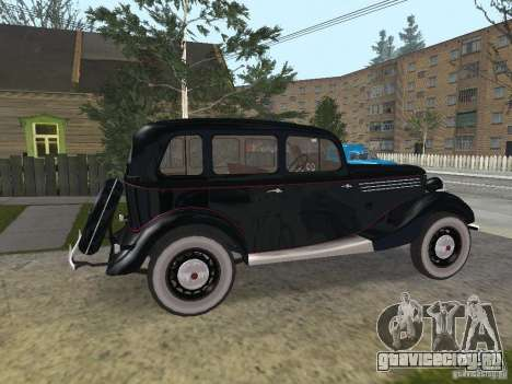 ГАЗ 11-73 для GTA San Andreas вид слева