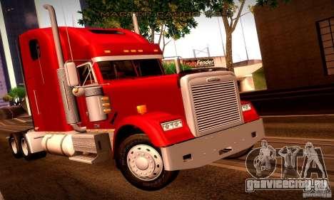 Freightliner Classic XL для GTA San Andreas двигатель