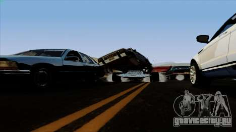 Flip Car из Furious 6 для GTA San Andreas вид сбоку