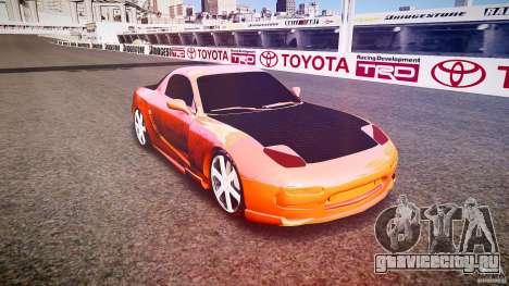 Mazda RX-7 ProStreet Style для GTA 4