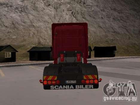 Scania 460 для GTA San Andreas вид справа