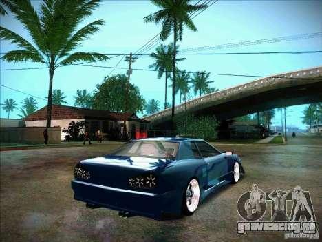 Elegy JDM Tuned для GTA San Andreas вид сзади слева