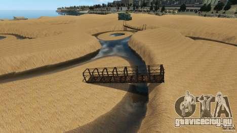 Пустыня Гоби для GTA 4 шестой скриншот