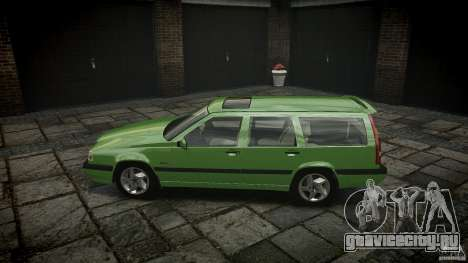 Volvo 850 Turbo 1996 для GTA 4 вид слева