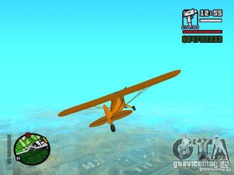 Piper J-3 Cub для GTA San Andreas вид справа