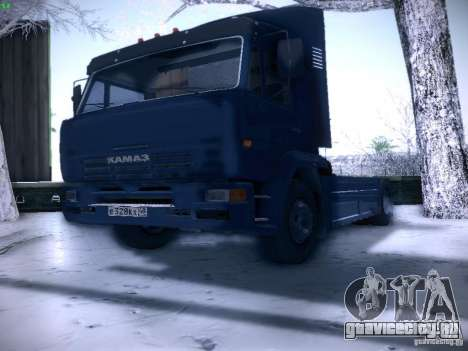 КамАЗ 5460 Sport для GTA San Andreas вид справа