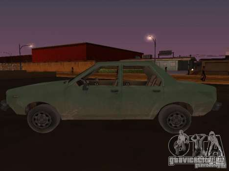 Машина из CoD:MW для GTA San Andreas вид слева