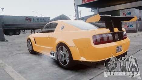 Ford Mustang GT-R для GTA 4 вид сзади слева