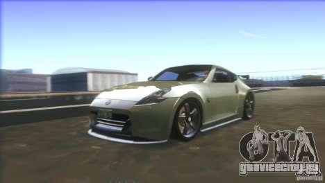 Nissan 370Z Drift 2009 V1.0 для GTA San Andreas двигатель