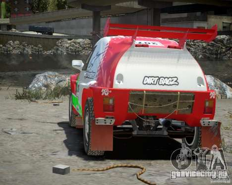 Mitsubishi Pajero Proto Dakar EK86 Винил 2 для GTA 4 вид справа