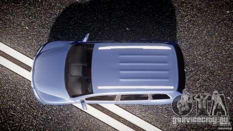 Volkswagen Touareg 2008 TDI для GTA 4 вид справа