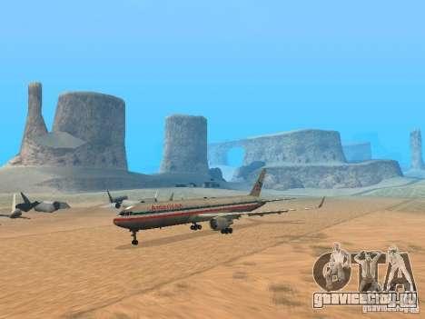 Boeing 767-300 American Airlines для GTA San Andreas