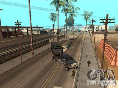 Dodge Ram для GTA San Andreas вид сзади слева