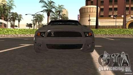 Shelby Mustang 1000 для GTA San Andreas вид справа