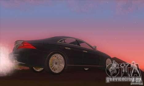 Mercedes-Benz CLS AMG для GTA San Andreas вид слева