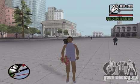 Перевоплощение в горожанина для GTA San Andreas пятый скриншот
